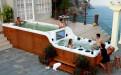 Плавательный бассейн спа JNJ Spas Houston